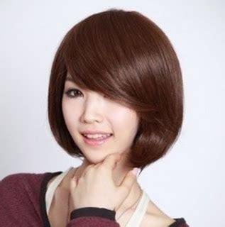 model rambut pendek wanita  terbaru gaya korea