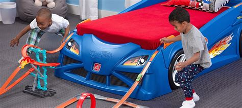 hot wheels car bed hot wheels cama de coche y pista de carreras todo en uno