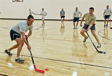 History Of Floor Hockey by 934th Teams Battle For Floor Hockey Title Gt Minneapolis St