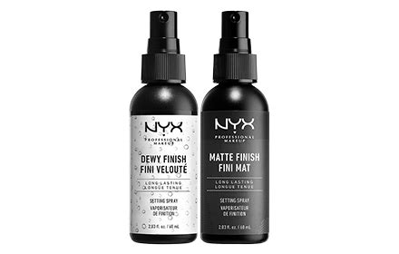 Nyx Setting Spray nyx professional makeup makeup setting spray 2 types to