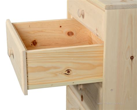 Unfinished Pine Chest Of Drawers by Hoot Judkins Furniture San Francisco San Jose Bay Area Jc Bookcases Chests Chests For
