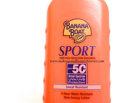 banana boat sunscreen jobs banana boat sport performance sweat resistant sunscreen