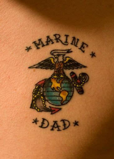 small marine tattoos rip tattoos marine small marine corps tattoos