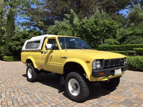 vintage toyota 4x4 1981 toyota 4x4 truck toyota other 1981