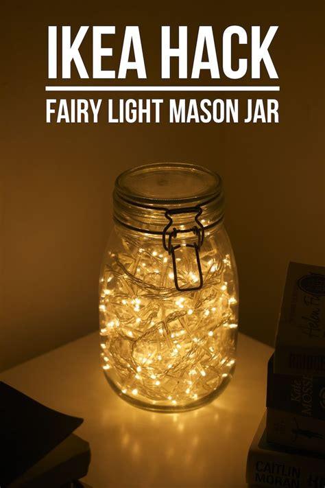 fairy lights in a jar daydream in blue uk lifestyle blog ikea hack fairy