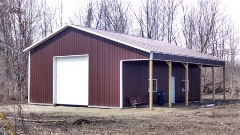 Pole Building Garages by Sterling Built Pole Barn Garages Gallery