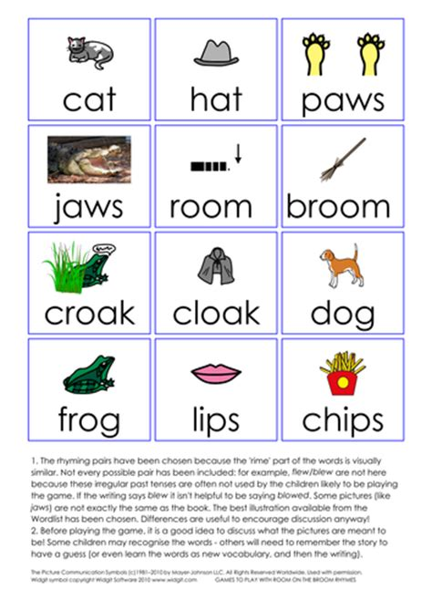 room on the broom pdf room on the broom simple activities by languageisheartosay teaching resources tes