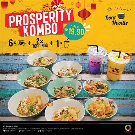 boat noodle boat noodle prosperity kombo kl gateway mall