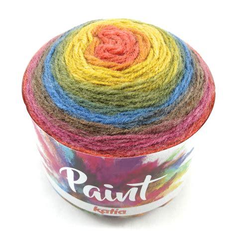 painting acrylic yarn paint autumn winter yarns katia