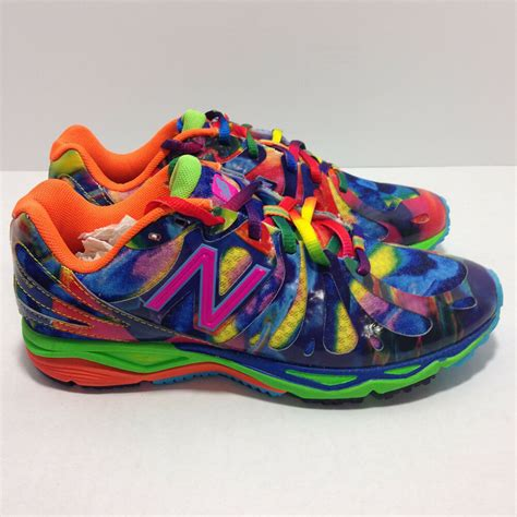 rainbow colored shoes new balance rainbow colored running shoes cladem