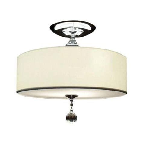 semi flush drum light one common decorating mistake by interior designer