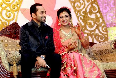 pin nazriya nazim marriage with fahad fazil in august picture on fahad fazil nazriya nazim wedding rception 3
