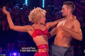 peta murgatroyd and james maslow heat up dance floor at james maslow and peta murgatroyd strip to underwear on