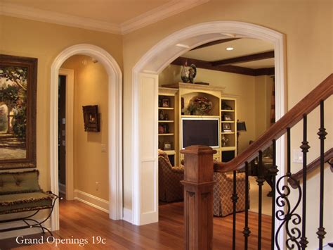 How To Unlock Bedroom Door by Eyebrow Arched Cased Opening Unit Traditional Entry