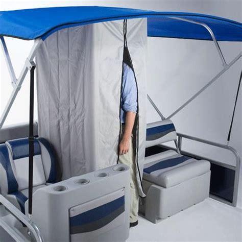 pontoon boat shower pontoon boat changing room drop down curtain w zipper