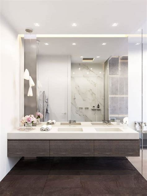 large mirror in bathroom bathroom large white wood mirrors white bathroom mirror
