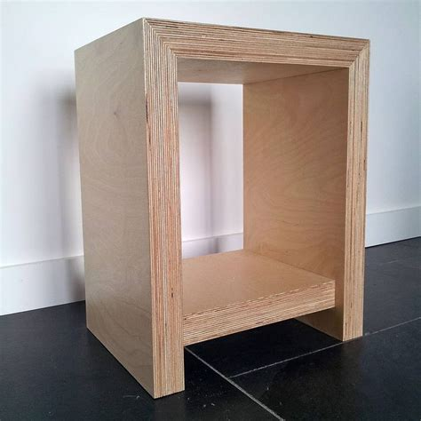 Plywood Bedside Table | 1000 ideas about plywood table on pinterest plywood