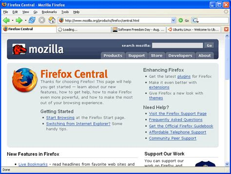 firefox home screen themes how to customize linux