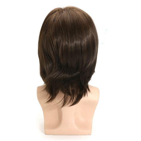 hair show wigs in midfield al hombres marr 243 n cabello peluca cosplay natural cap de la