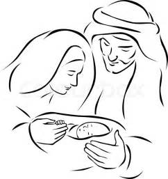 Mobile/virgin Mary Line Of Faces Coloring Pages sketch template
