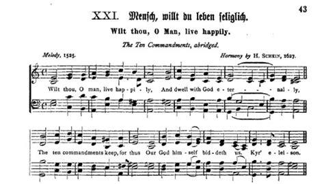 Lied Hoch Sollst Du Leben An Der Decke Kleben by The Hymns Of Martin Luther Library Of Liberty