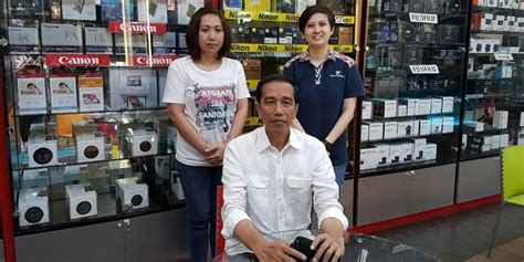 Kamera Canon Focus Nusantara jokowi antar kaesang ke toko kamera kompas