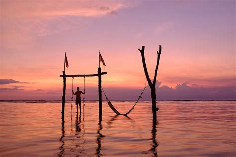 exle of swing a land of no worries exploring the gili islands tales