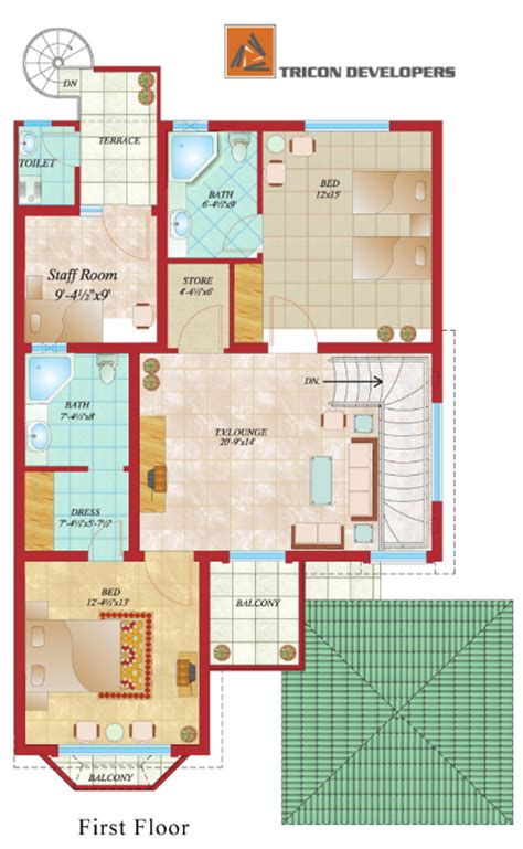 Floor Plans For Small Houses With 2 Bedrooms floor plan tricon village