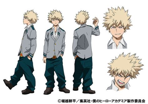 image katsuki s anime colored character design png