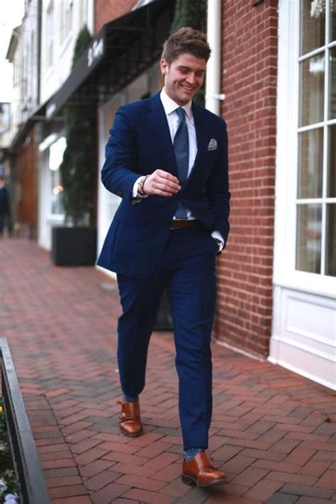 gents there s nothing wrong with brown shoes and a blue