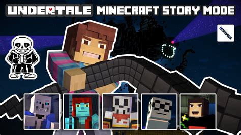 ps3 themes minecraft story mode undertale theme play as frisk full minecraft story mode