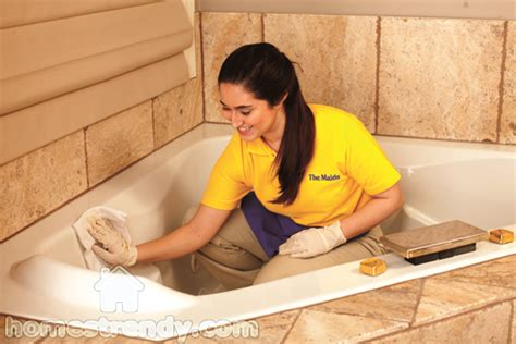 cleaning the bathtub how to get rid of germs in the bathroom home trendy
