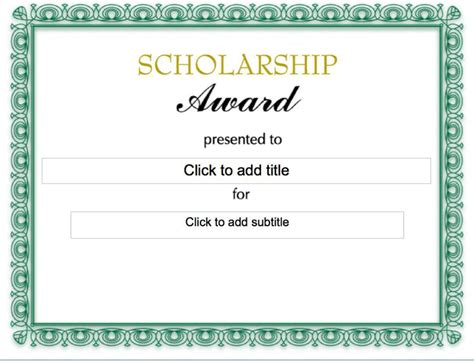 Scholarship Award Letter Daad The Scholarship Award Certificate Can Help You Make A Professional And Document