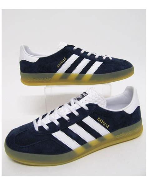 Adidas Gazele Navy Yellow adidas gazelle yellow blue los granados apartment co uk