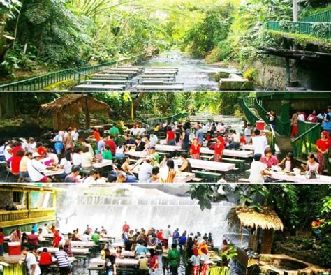 villa escudero waterfalls restaurant villa escudero with the waterfalls restaurant