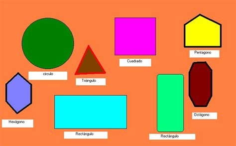 formas geometricas con imagenes im 225 genes de figuras geometricas planas para ni 241 os para
