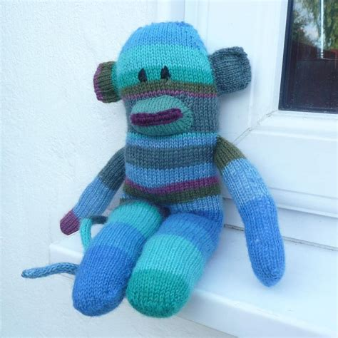 sock animals patterns free sock monkey knitting pattern a knitting