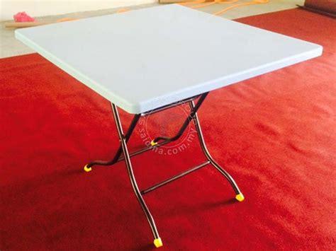 Meja Lipat Plastik Malaysia pembekal meja plastik lipat terus dari kilang plastic