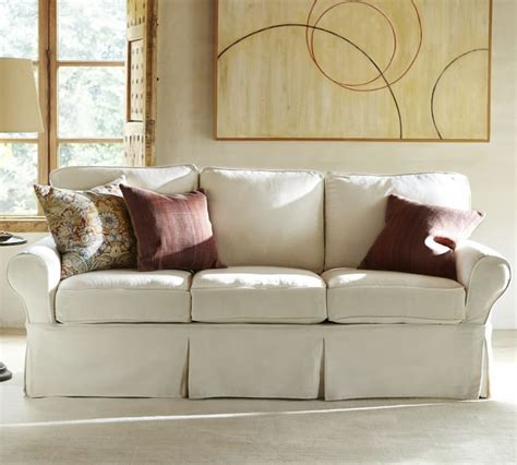 pottery barn sectional slipcovers slipcovers that fit pottery barn basic sofa