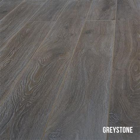 Heartridge Laminate Flooring in Smoked Oak, Greystone
