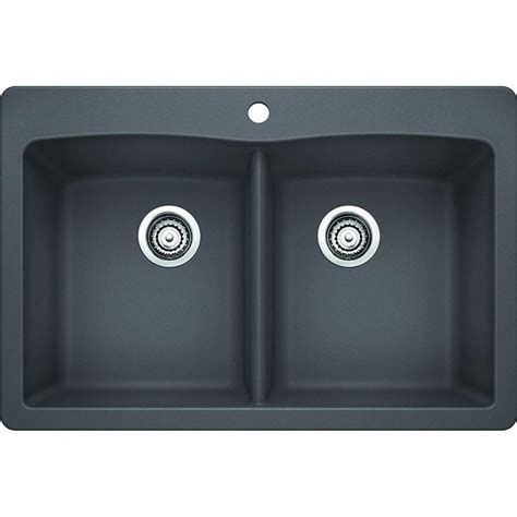 blanco diamond dual mount composite 33 in 1 hole double blanco diamond dual mount granite composite 33 in 1 hole
