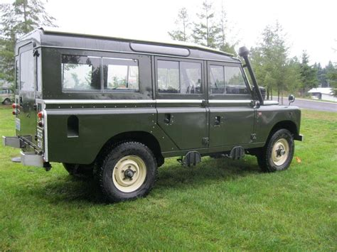 land rover safari vehicles for sale 1971 land rover safari deluxe for sale 1773363 hemmings