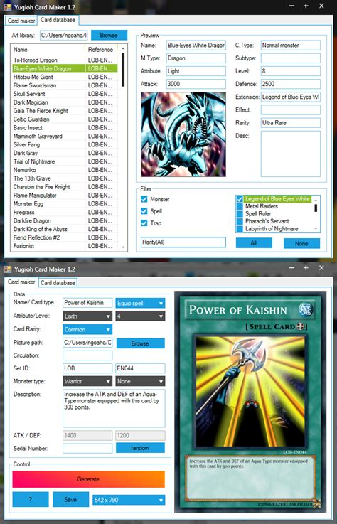 card editor free card editor 28 images anime yu gi oh card maker update