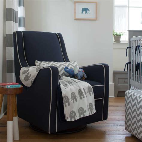 Gray And Navy Crib Bedding Navy And Gray Elephants Crib Bedding Carousel Designs