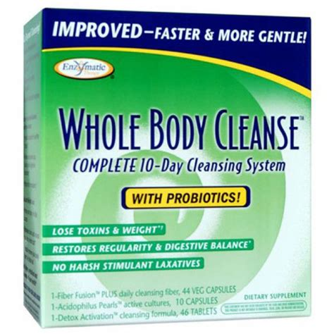 Total Herbal Cleanse Detox by Whole Cleanse 10 Day Complete Cleanse Enzymatic