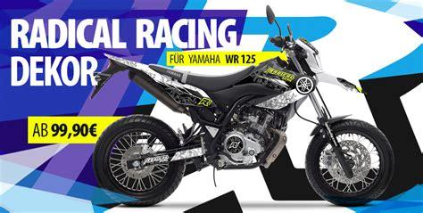 Yamaha Dt 125 Dekor Aufkleber by Radical Racing