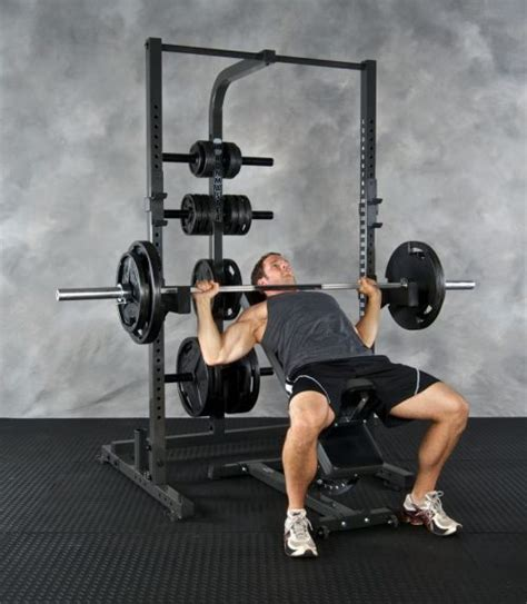 ironmaster super bench adjustable weight lifting bench im1500 half rack weight lifting system ironmaster