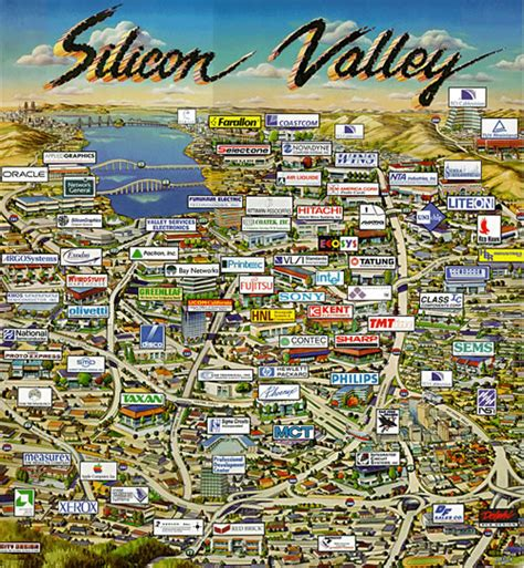 silicon valley map paul graham s reasons to move to silicon valley global nerdy joey devilla s mobile tech