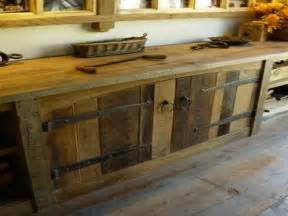 awesome What Type Paint For Kitchen Cabinets #5: rustic-barnwood-kitchen-cabinets-old-barn-wood-cabinet-5d991d6991e8f80d.jpg