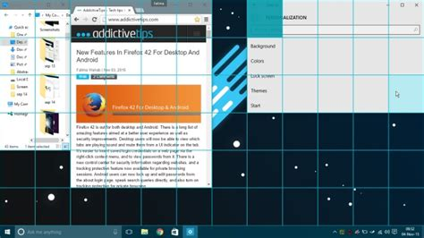grid layout resize enable an on screen grid to arrange windows more easily